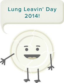 lung leaving' day
